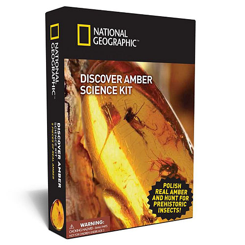 National Geographic Science Discovery Kit - Amber (8+ yrs)