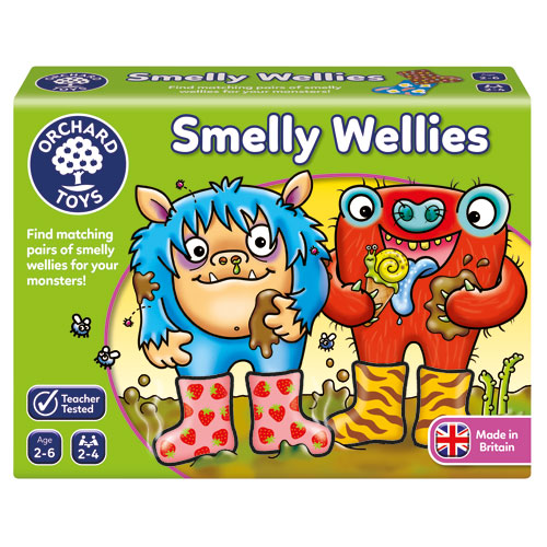 Orchard Toys Matching Pairs Game - Smelly Wellies (2-6 yrs, 2-4 players)