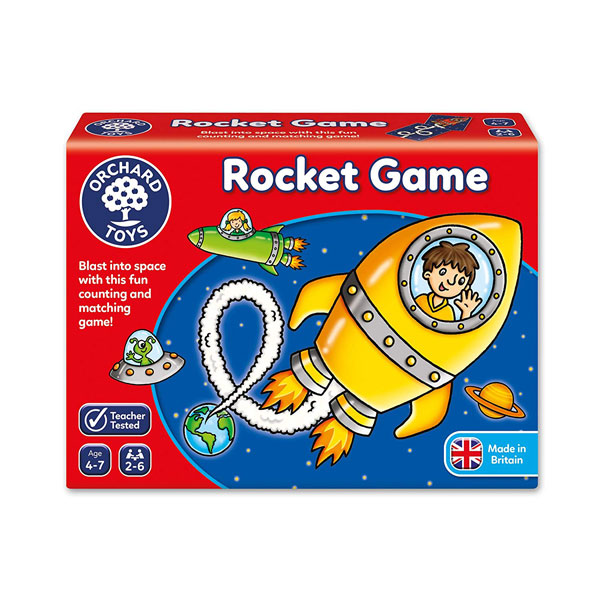 Orchard Toys Rocket Count & Match game (4-7 yrs, 2-6 players)