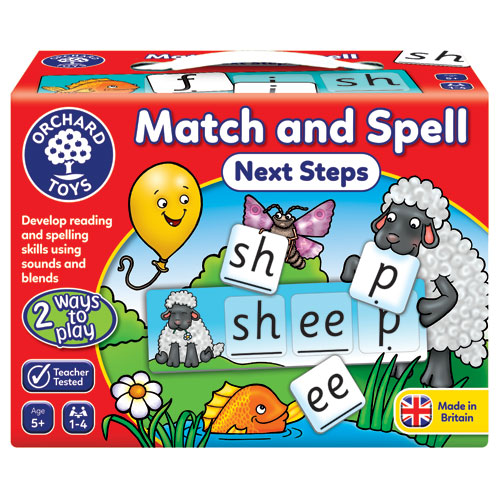 Orchard Toys Match and Spell Next Steps (5+ yrs, 1-4 players)
