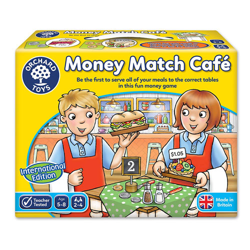 Orchard Toys Money Match Cafe Game (5-8 yrs)