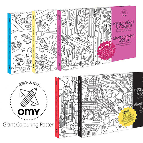 OMY Giant Colouring Posters