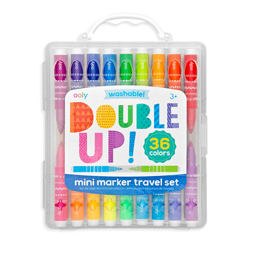 OOLY Double up! 2-in-1 mini markers (Pack of 36)