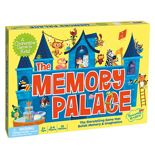 Memory Palace Cooperative Game (5+ yrs, 2-4 Players)