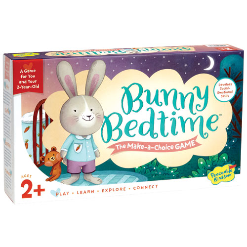 Bunny Bedtime Make-A-Choice Board Game (2-5 yrs)