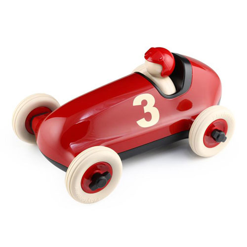 Playforever 102 Bruno Red No.3 Racing Car (3+ yrs)