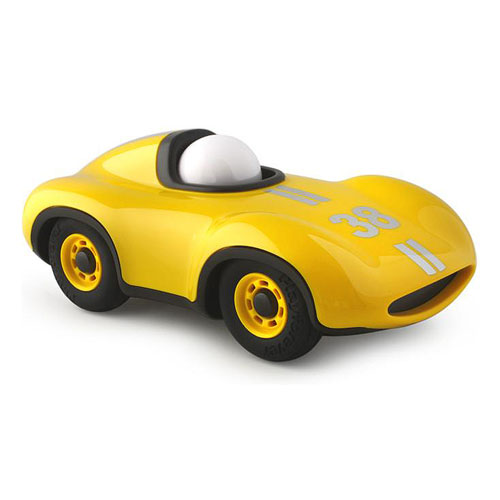 Playforever Speedy Le Mans No.38 Mini Car - Yellow (3+ yrs)