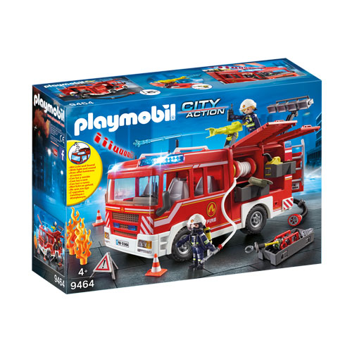 Playmobil City Action - Fire Engine with Lights and Sound