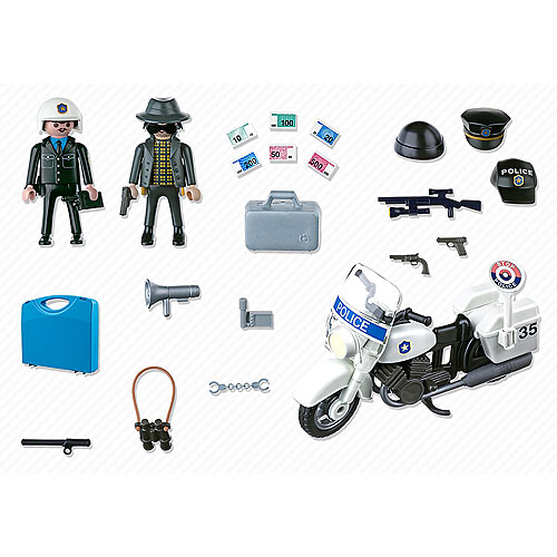 playmobil carry case police - Playmobile Police