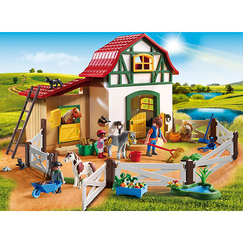 Playmobil Country - Pony Farm
