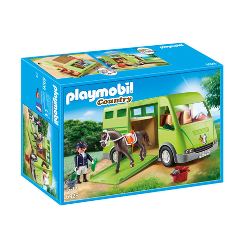 Playmobil Country - Horse Transporter (5+ years)