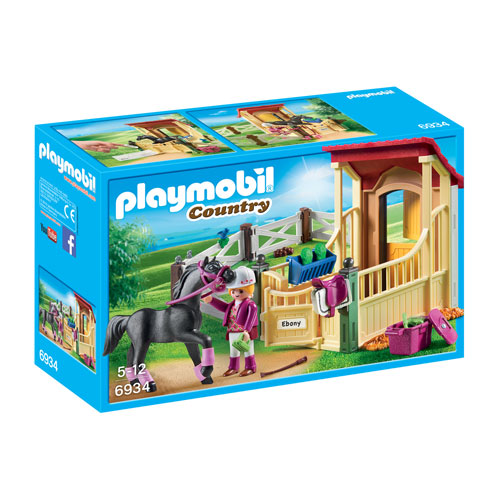 Playmobil Country - Horse Stable with Arabian Horse (5+ years)