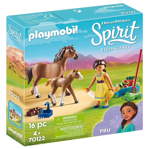 Playmobil Spirit Riding Free - Pru with Horse and Foal