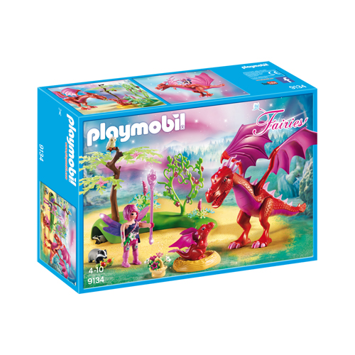 Playmobil - Friendly Dragon with Baby