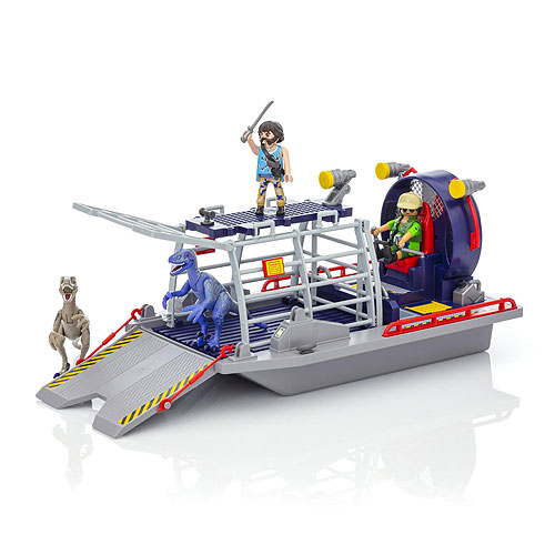 Playmobil - Enemy Airboat with Raptors (4+ years)