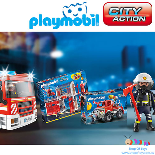 Playmobil - City Action Series Playsets