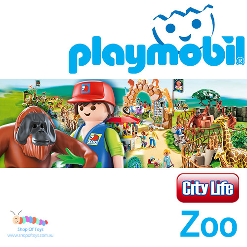 Playmobil - City Life Zoo Series Playsets