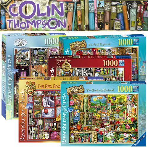 Colin Thompson's Ravensburger 1000+ pieces puzzles