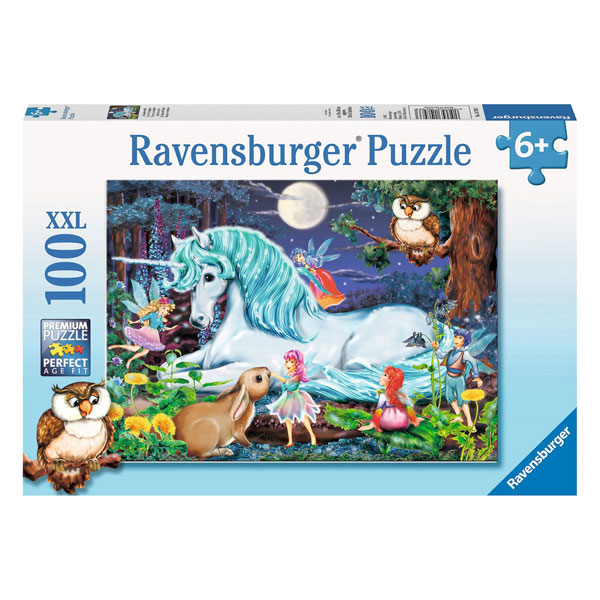 Enchanted Forest Puzzle by Ravensburger (XXL100 pieces, 6+ yrs)