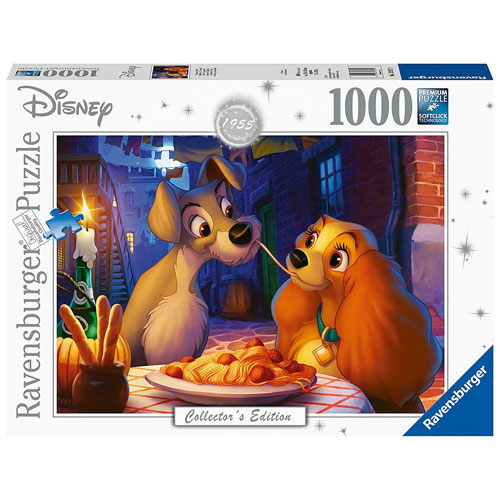Ravensburger Disney Moments  - Lady and Tramp Puzzle (1000 pieces)