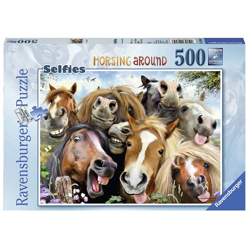 Ravensburger Horsing Around Puzzle (500 pieces)