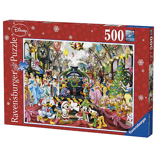Ravensburger Disney Christmas Train Puzzle (500 pieces, 12+ yrs)