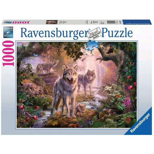 Ravensburger - Summer Wolves puzzle (1000 pieces)