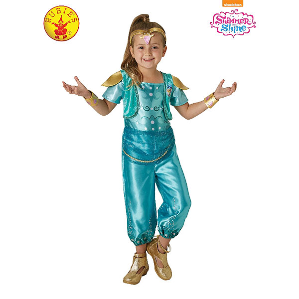 Shimmer and Shine - Shine Classic Costume (Size 3-5)