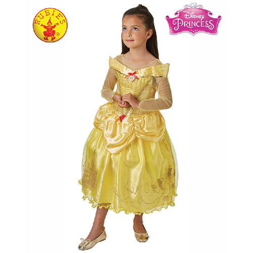 Disney Belle and the Beast Deluxe Child Costume Size M (5 to 6 years)