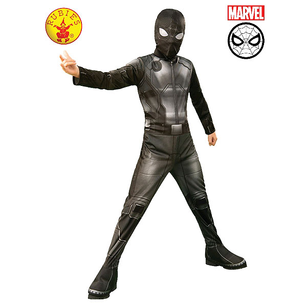 Spider-man Far From Home Stealth Costume (size S, 3-4 yrs)