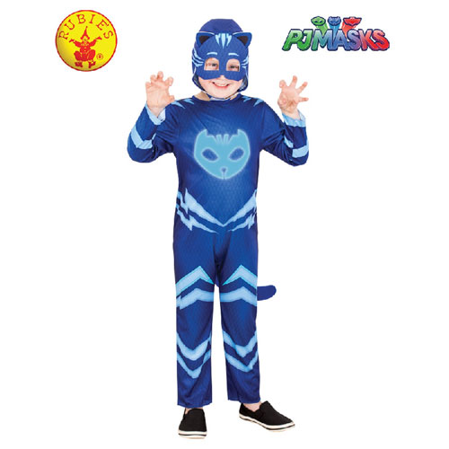 PJ Masks Catboy Glow In the Dark Costume - Size 3-5 (3 to 5 years)