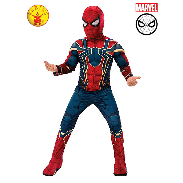 Marvel Iron-Spider Infinity War Child Deluxe Costume (size M, 5-7 yrs)