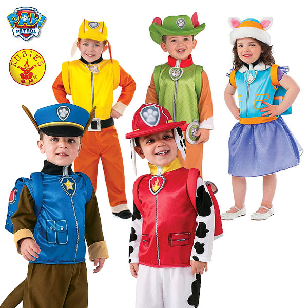 Rubies Paw Patrol Kids Costume Selection