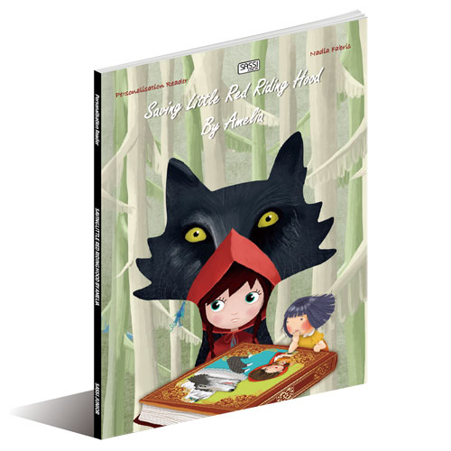 Sassi Junior Die-Cut Book - Little Red Riding Hood (3+ yrs)