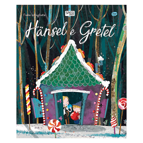 Sassi Junior Die-Cut Book - Hansel and Gretel (3+ yrs)
