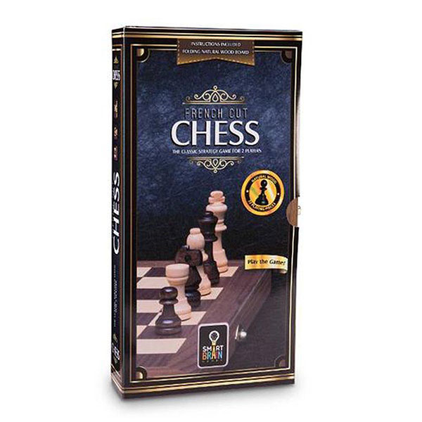 French Cut Chess Set by Smart Brain (7+ yrs, 2 players)