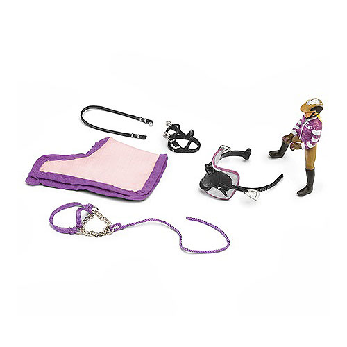 Schleich - Pony Riding set (horse not included)