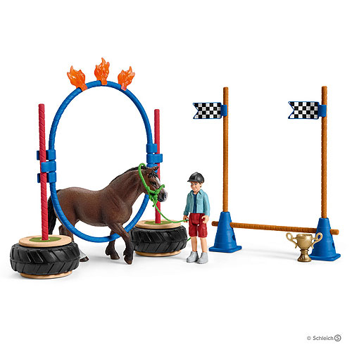 Schleich Pony Agility Race Set