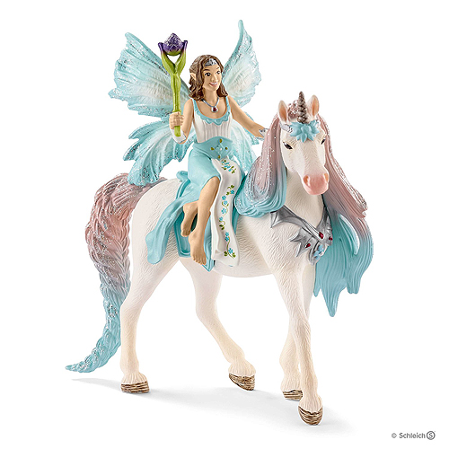 Schleich Bayala - Fairy Eyela with Princess Unicorn