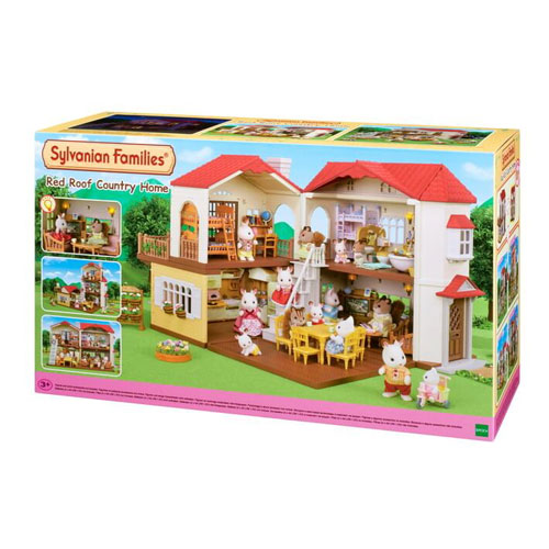 Sylvanian Families - Red Roof Country Home (3+ yrs)