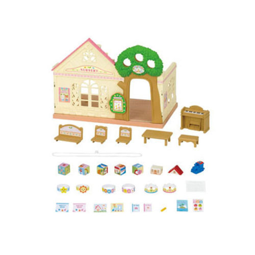 Image result for sylvanian forest nursery