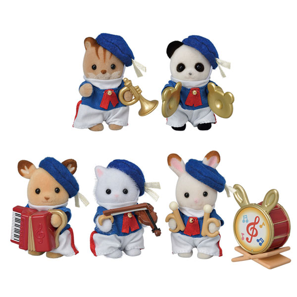 Sylvanian Families 35th Anniversary - Baby Celebration Marching Band (3+ yrs)