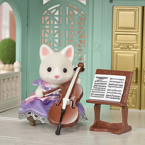 Sylvanian Families Town Series - Cello Concert Set