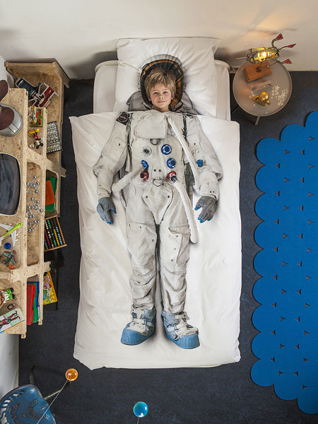 SNURK QuiltSet Astronaut 2
