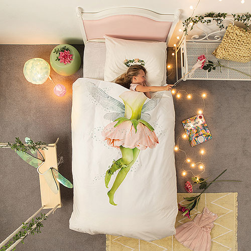 Snurk Bed Quilt Cover Set - Fairy (King Single)