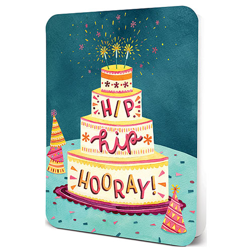 Hip Hip Hooray Greeting Card