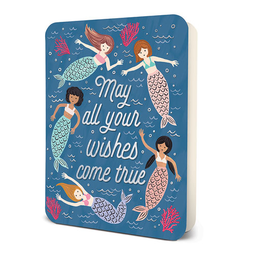 Studio Oh! Greeting Card - Wishes True Mermaids