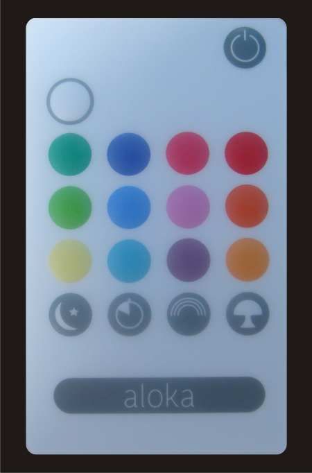 Aloka Sleepylight Spare Remote Control