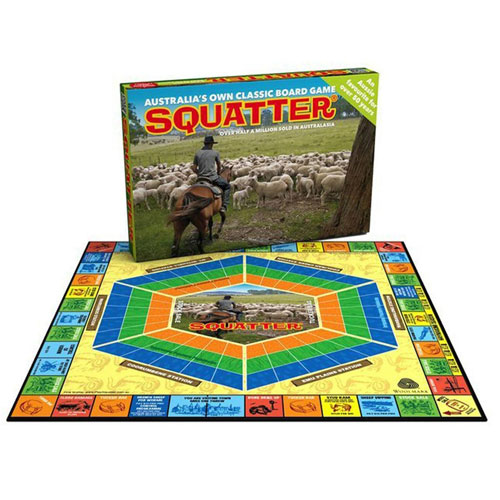 Squatter Board Game (10+ yrs)
