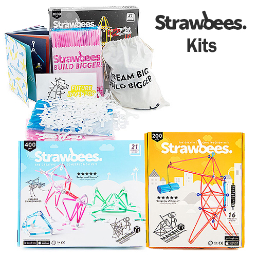 Strawbees Kit Selection (5+ yrs)